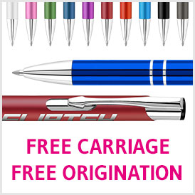 The stylish Electra Classic pen with free carriage and free origination