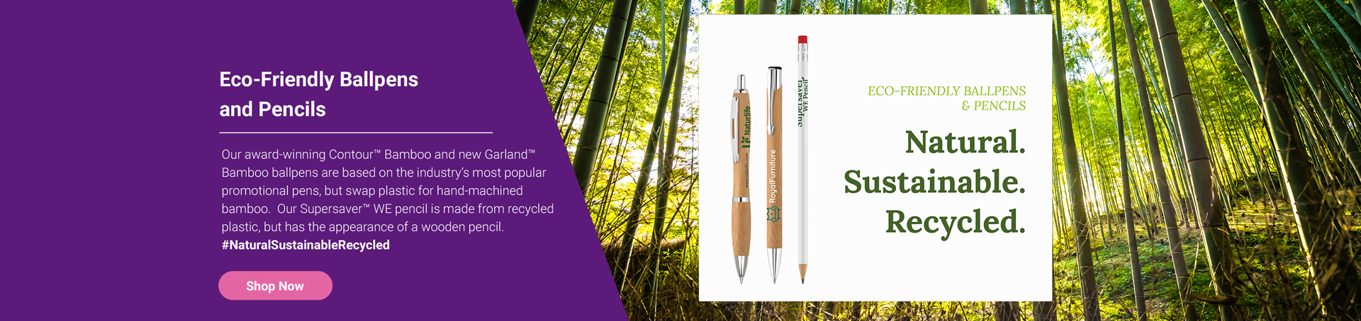 Eco-Friendly Ballpens and Pencils